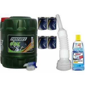 20L FANFARO Olio motore GSX 15W-40 API SG/CD olio incl. Canale di scarico Tubo