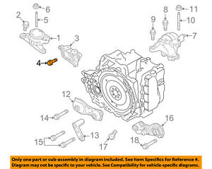 Lincoln FORD OEM MKS Engine Motor Transmission-Support Mount Bolt  W714822S437 | eBayeBay