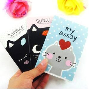 Cute-Creative-Animal-Diary-Pocket-Planner-Journal-Notebook-Gifts-Stationary-SSF