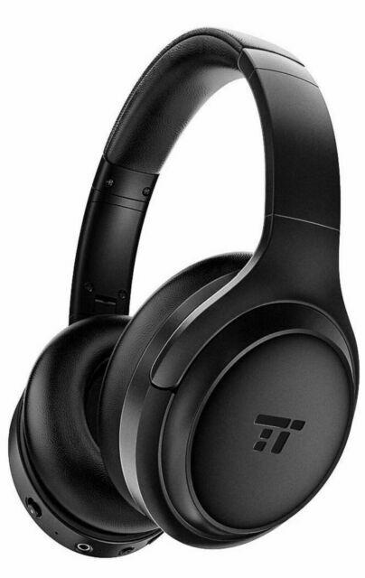 Taotronics Tt Bh060 Active Noise Cancelling Headphones Black For Sale Online Ebay