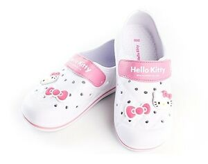 Hello-Kitty-NEW-Kids-Casual-Shoes-for-Girls-Clogs-Summer-School-House-White-YOMI