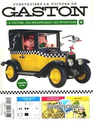 Construisez la voiture de Gaston Lagaffe 1//8 Neuf N°1 collection hachette