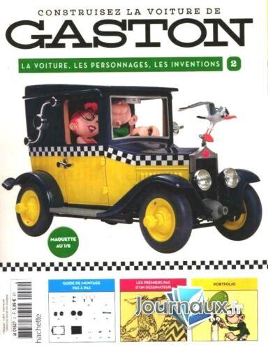 Construisez la voiture de Gaston Lagaffe 1//8 Neuf N°2 collection hachette