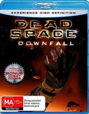 Dead Space Downfall Blu Ray 2008 Ebay