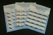 Air Transportation In Malaysia 2007 Aviation Airplane Vehicle (sheetlet MNH rare