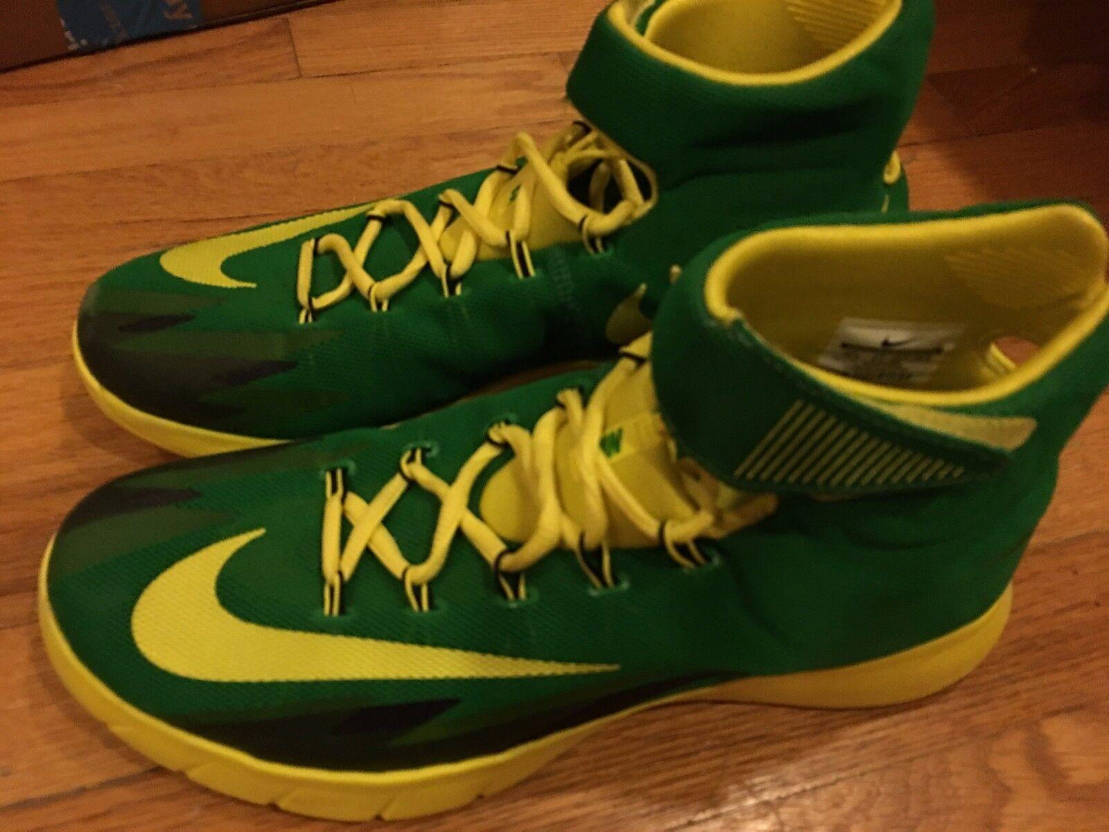Nike hyperrev OG 2014 Green Yellow VNDS EXCELLENT WORN WORN WORN 2x 5c3c2a