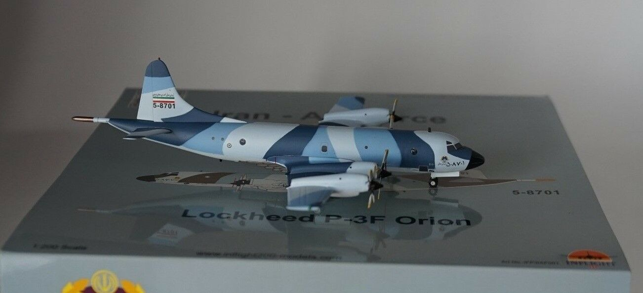 Inflight 200 IFP3IAF001 Lockheed Martin P-3F IRAN AIR FORCE 5-8701 in 1:200 | Offre Spéciale