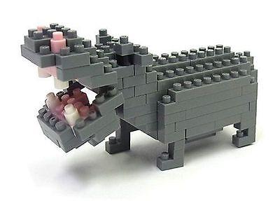 Hippopotamus Nanoblock Miniature Building Blocks New Sealed NBC 049