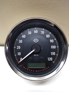 Harley-Davidson-COMBINATION-SPEEDOMETER-TACHOMETER-70900221-NEW-NOS