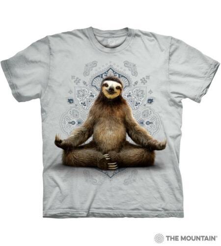 "S /""Vriksasana Sloth/"" The Mountain Classic T-Shirt 5X"