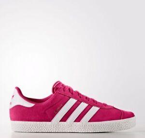 Details about Adidas Originals Gazelle 2 J GS Big Kids Youth Girl Shoes BA9315 Pink Size 6.5