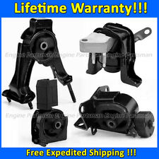 0489 Motor & Trans Mount for 05-06 Toyota Corolla XRS 1.8L 6 Speed MANUAL 2ZZGE