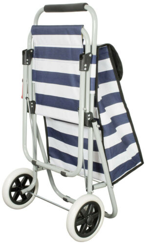 Siège achat TROLLEY SHOPPING Assistant Sac Cabas Pliable Mer du Nord Bandes