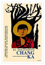 Cuban movie Poster 4 Chinese film CHANG Ka.China.Tsui Wei Ouyang Hung-Ying