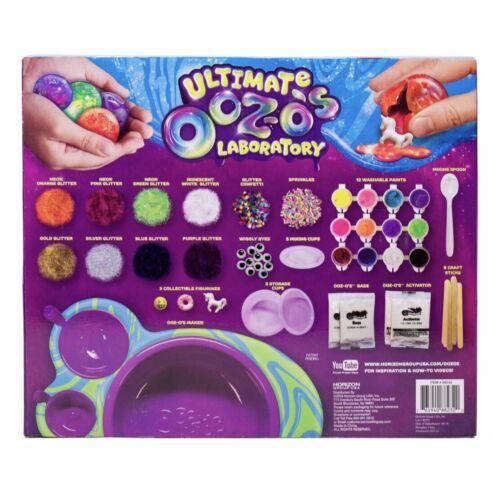 New Ooz-o/'s Ultimate 43pc Laboratory Kit DIY Slimy Spheres