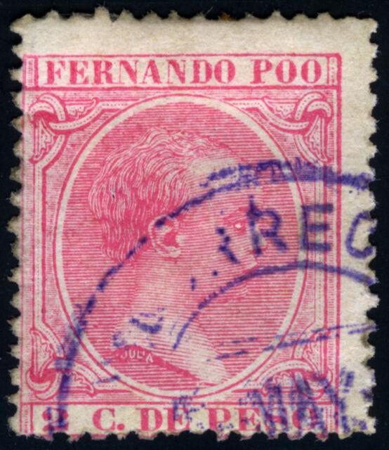FERNANDO POO 13 USADO ALFONSO XII