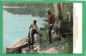 A STRING OF BEAUTIES, GRANITE LAKE, TEMAGAMI DISTRICT, CANADA * PIKE ? * D18