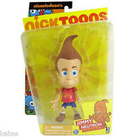 Jimmy Neutron 6 Inch Articulated Action Figure Nicktoons By Jazwares -