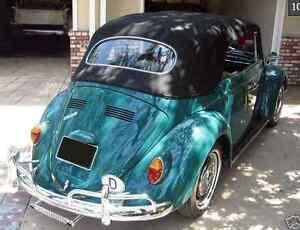 Image Is Loading Vw Volkswagen Bug Beetle 1963 1967 Convertible Top