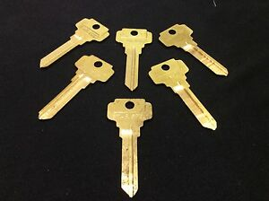 Dexter by Star DE8 Key Blanks, Set of 6- Locksmith