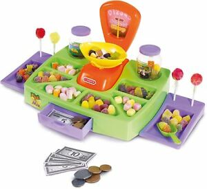 Casdon-PICK-AND-MIX-SWEET-SHOP-Candy-And-Play-Money-Shop-Role-Play-Toy-BN