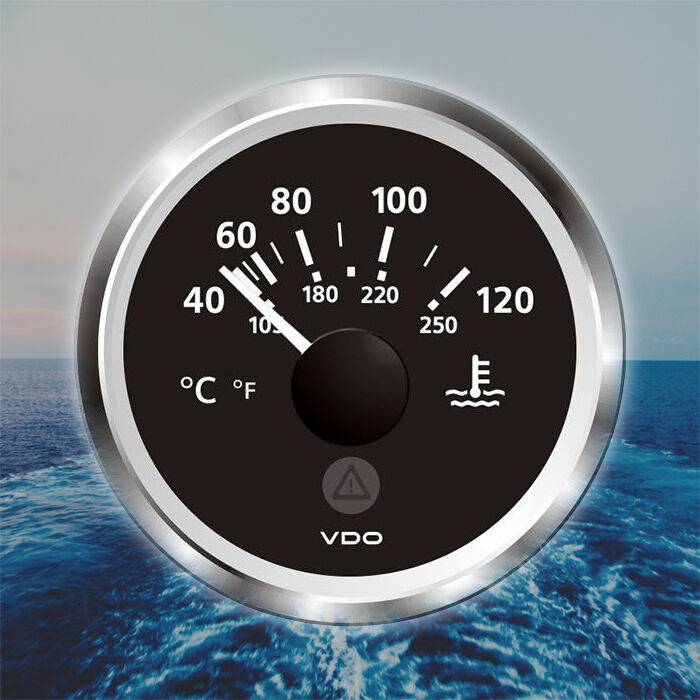 VDO Viewline Kühlwassertemperatur Anzeige 52mm 2