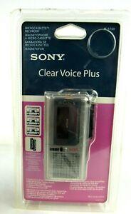 NEW-sealed-Sony-M575V-vtg-MicroCassette-Handheld-Tape-Voice-Recorder-w-tapes