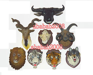 Takara Tomy Hunting Trophy figure animals Head Magnet gashapon part.3 (8 Pcs)