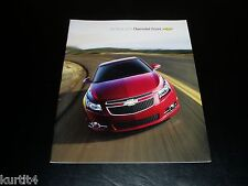 2011 Chevrolet Cruze LS LT Eco sales brochure deluxe dealer literature