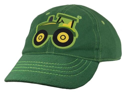 NEW John Deere Infant 6-12 Months French Terry Green Tractor Cap LP68347