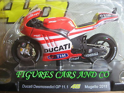 MOTO GP 1//18 DUCATI DESMOSEDICI GP11.1 # 46 COLLECTION  ROSSI MUGELLO 2011