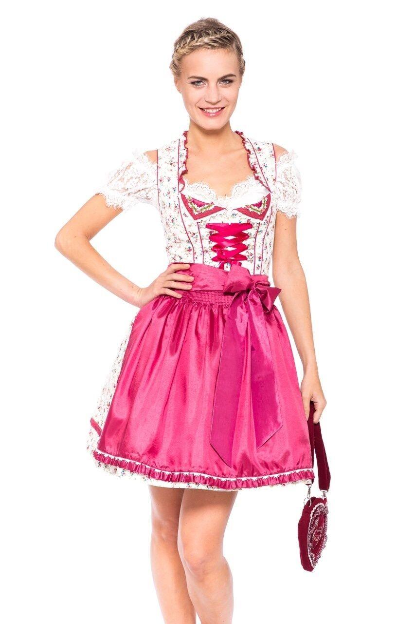 Krüger Bright Rosa Dirndl Damen Gr. 34-42 Madl Madl Madl Trachtenkleid Oktoberfestkleid | Moderner Modus  | Modern  | Neuheit Spielzeug  7316c9