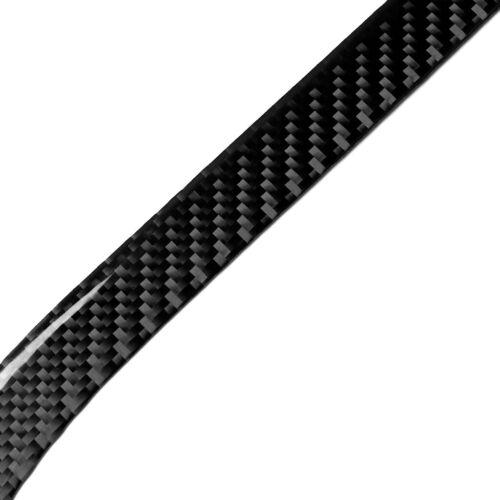 2Pcs Carbon Fiber Rear Tail Fog Light Trim Cover For Tesla Model S X 2014-2019