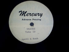 APRIL & RUTH MERCURY ADVANCE TEST PRESSING Braces take 1D,multiple machine mix