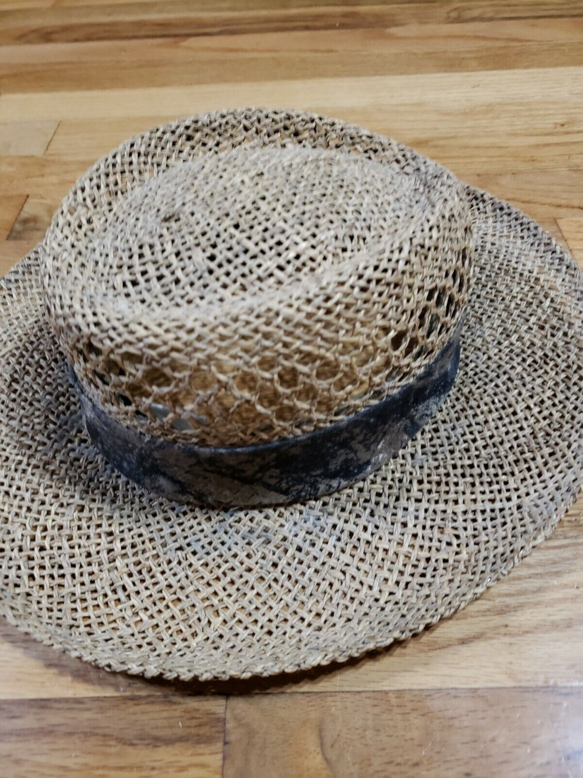 Authentic RedHead Straw Hat Cap 100% Straw One Si… - image 3