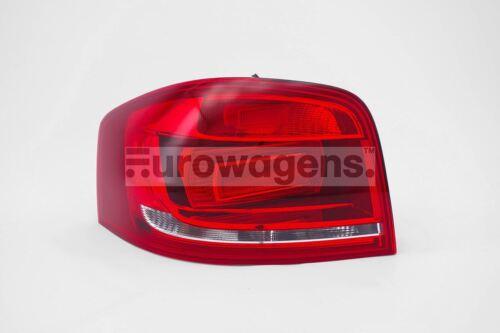 Audi A3 08-10 Red Rear Tail Light Lamp Left Passenger Near Side N//S OEM