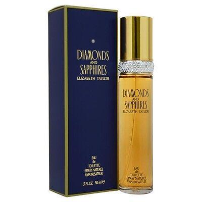 Diamonds & Sapphire by Elizabeth Taylor for Women 1.7 oz Eau de Toilette Spray