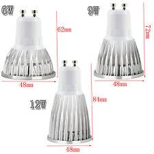 LED Spotlight Bulb Dimmable GU10/MR16/GU5.3/E27/E14 6W 9W 12W Lamp Ultra Bright