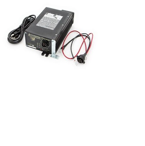 Hyster W40z battery charger Green light flashing