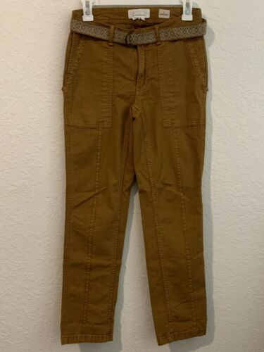 Anthropologie The Wanderer Utility Pants Size 25 M