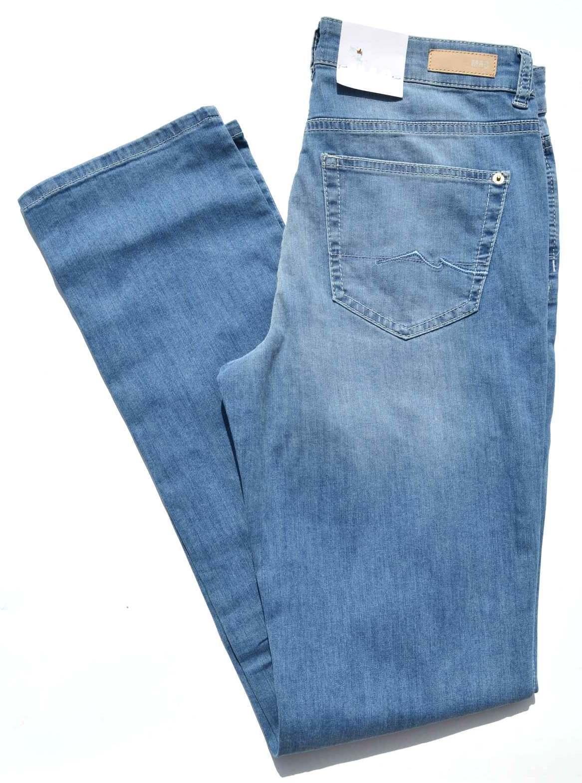 MAC Jeans ANGELA Blau Denim Stretch  blau Slim Fit BASIC  NEU