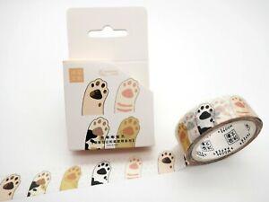 Cat paw washi tape