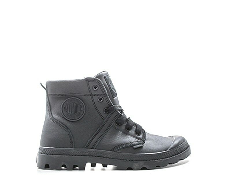 Zapatos PALLADIUM PALLADIUM Zapatos Hombre Negro Cuero Natural Pacal 0155-P060S ce7a70