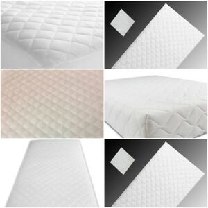 Terry Waterproof Baby Mattress Protector Cover Moses Pram Crib Cot Cot Bed Sheet White Crib//Cradle