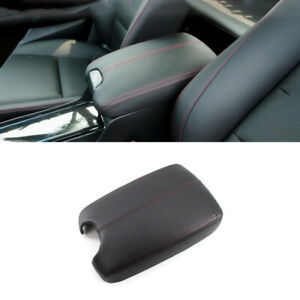 For Honda Accord 2008-2013 Black&Red Central Console Armrest Box Cover Trim 1pcs
