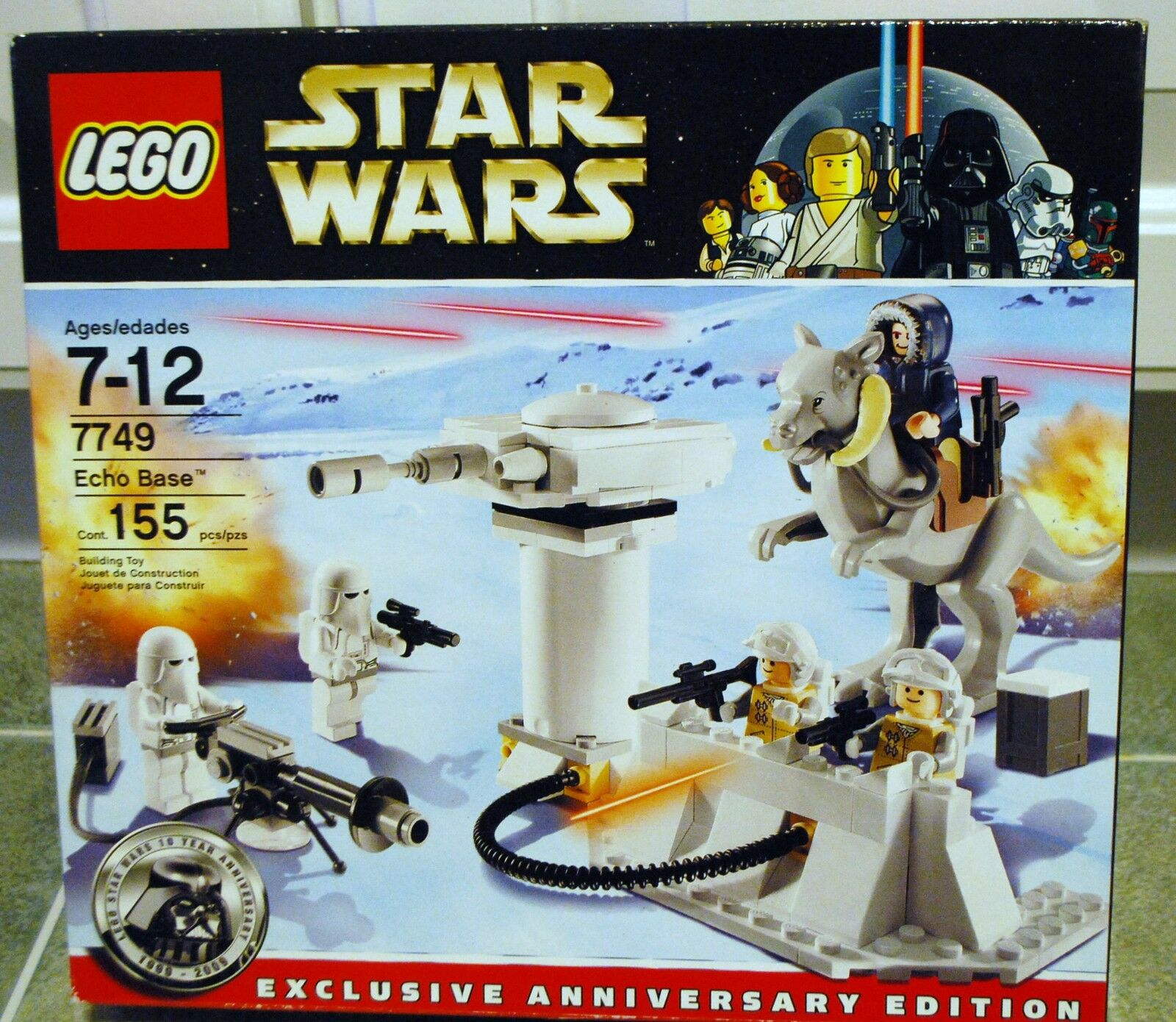 LEGO LEGO LEGO Star Wars Anniversary Edition ECHO BASE New in Box  8de47e
