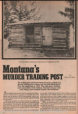 Fort Reed - Montana's Murder Tradering Post + Genealogy