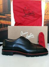 Christian Louboutin Hubertus Mens Shoes Oxfords Original Authentic Leather 43