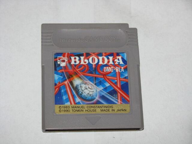Blodia Game Boy GB Japan import cartridge only