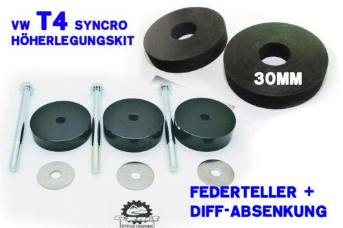 schwarz f.a Diff s, VW T4 Syncro Differential Absenkung mit 30mm Höherlegung